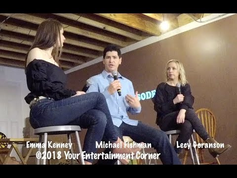 SXSW 2018  Emma Kenney, Michael Fishman, and Alicia