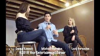 "SXSW 2018 Interview Emma Kenney, Michael Fishman, and Alicia ""Lecy"" Goranson - Roseanne"