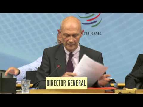 DIRECTOR-GENERAL PASCAL LAMY'S LEGACY SPEECH TO THE WTO MEMBERSHIP