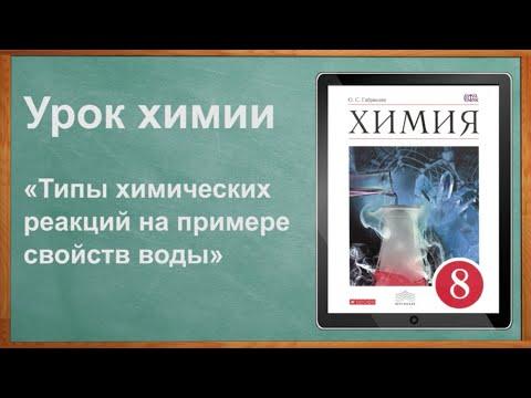 Видеоурок по химии (8 класс) на тему: Открытый урок по