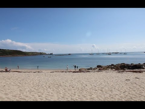 Flying to the Isles of Scilly