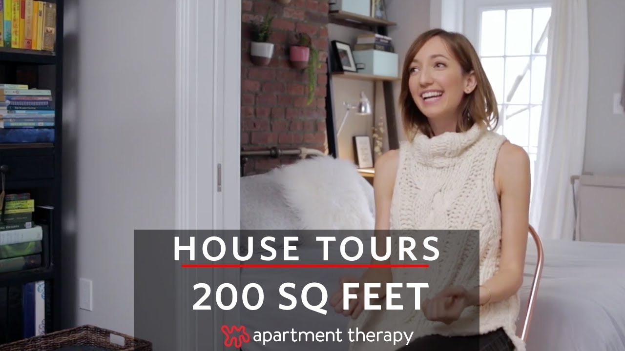 200 Square Feet In Manhattan House Tours Apartment Therapy