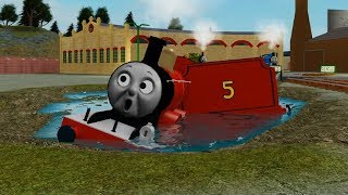 Toy train Thomas and Friends accidents will happen | railway videos for kids | Train Games roblox