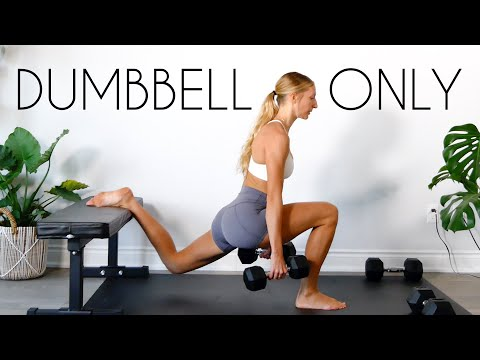 20 MIN LEG WORKOUT (Dumbbell Only At Home)
