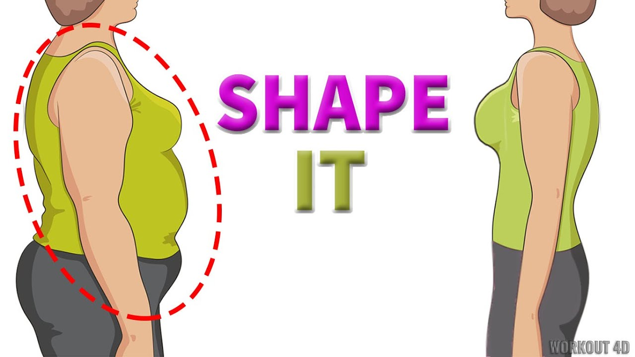 SHAPE YOUR UPPER BODY & BELLY   2IN1 AT HOME WORKOUT