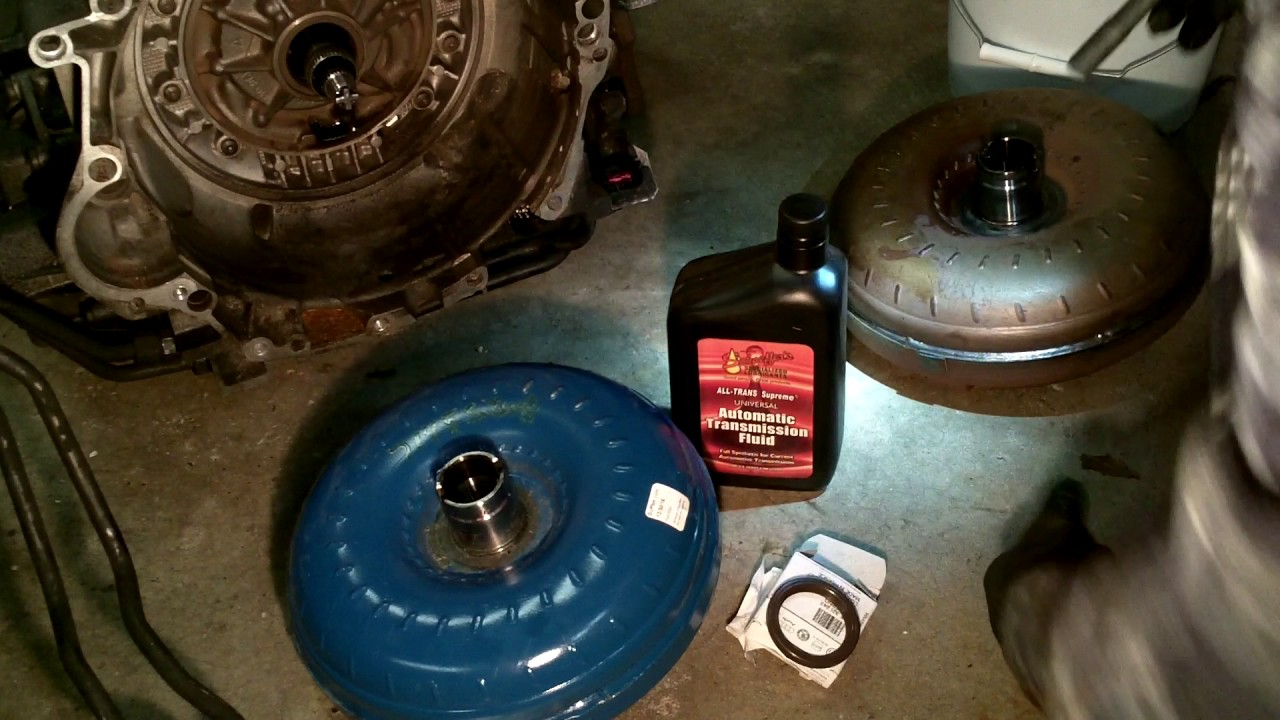 2002 Audi S4: Ep  150 - Replacing a torque converter on 5HP19