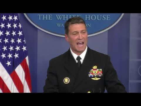 White House doctor says Trump in 'excellent' overall health, had normal score on cognitive exam