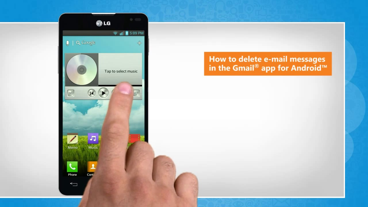 How To Delete Email Messages In The Gmail� App For Android™ By Iyogi