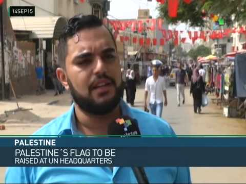 Palestinian Opinion Divided on Flag Raising