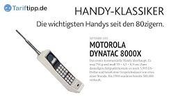 Handy-Klassiker | Meilensteine der Handy-Geschichte ab 1983