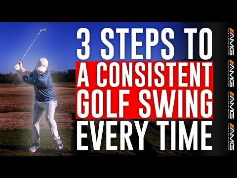 3 SIMPLE Steps To Consistent Golf Swing 🏌️♂️