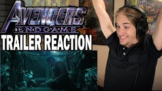 Avengers: Endgame | Official Trailer - Reaction & Review