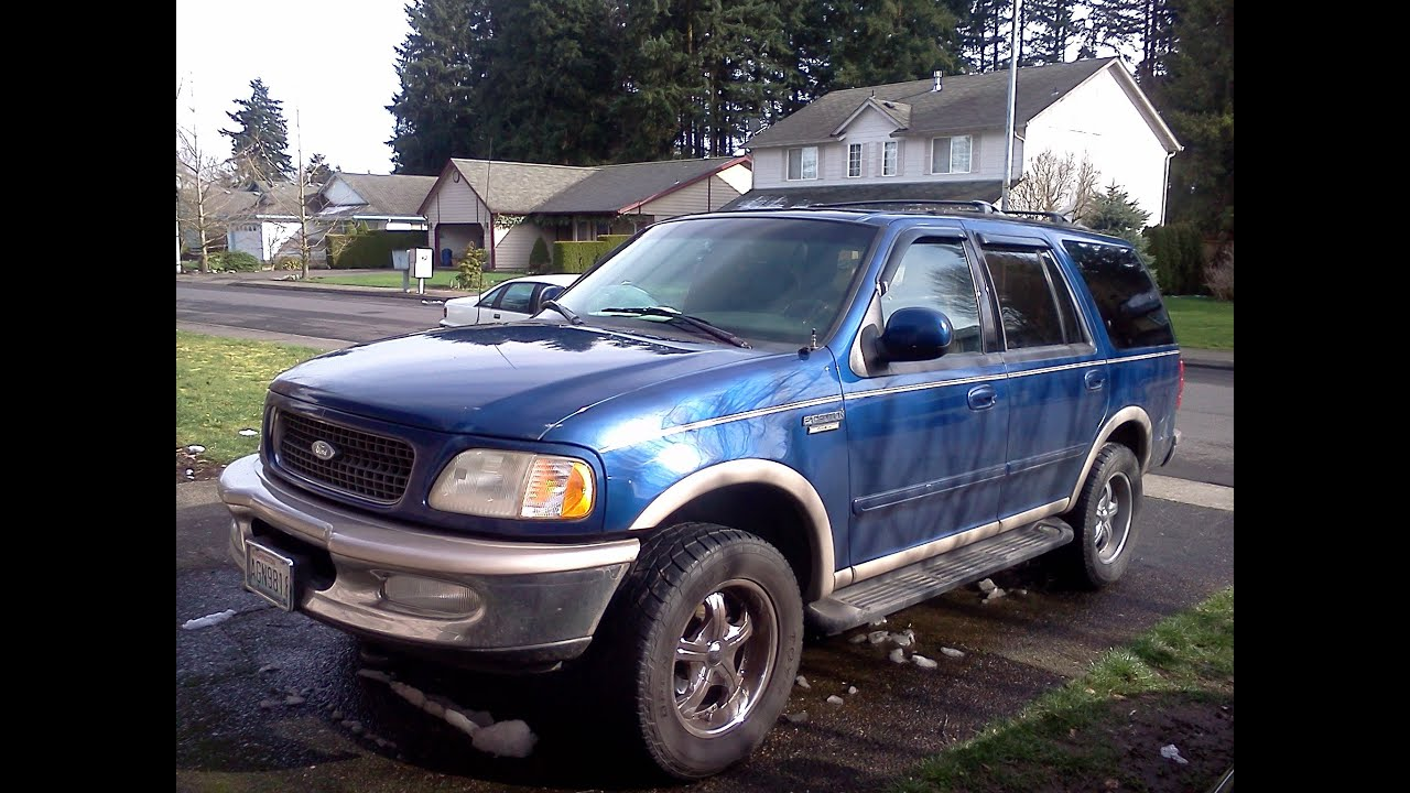 Test Driving 1997 Ford Expedition Youtube