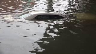 Midtown Houston, TX Epic Flooding - 8/27/2017