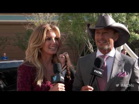2017 ACM Awards: Tim McGraw and Faith Hill Red Carpet Interview