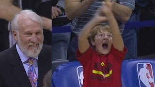 Tim Hardaway Jr Catches Fire Sends It to Overtime! Spurs vs Hawks