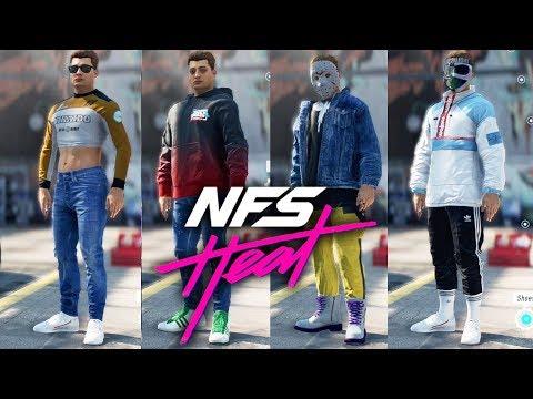 Need For Speed Heat Avatar Customization Every Item Youtube