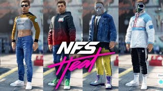 NEED FOR SPEED HEAT Avatar Customization (EVERY ITEM)