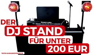 American Audio DJ MTS-4 DJ Stand | DJ Tisch Aufbau, Preise & Infos