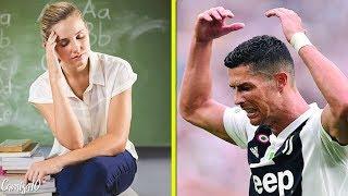 O dia que Cristiano Ronaldo jogou uma cadeira em sua professora