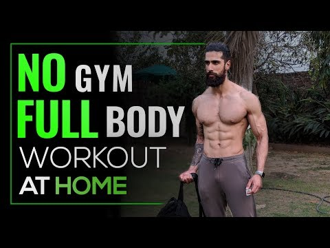 NO GYM FULL BODY WORKOUT AT HOME | BEST HOME EXERCISES