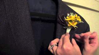 How to Properly Pİn on a Boutonniere