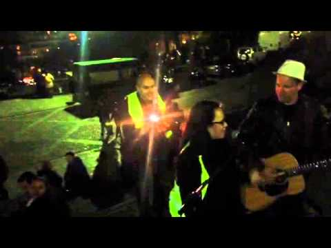 omneya singing at sacre couer in paris!