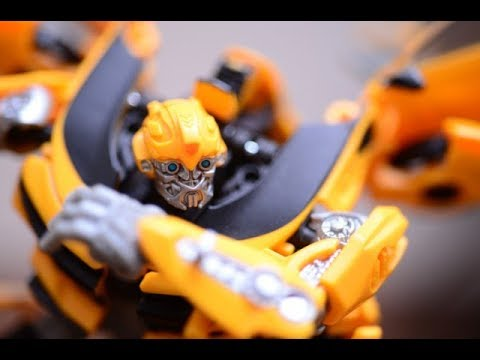 Transformers Stop Motion Movie.-Rescue Bumblebee-
