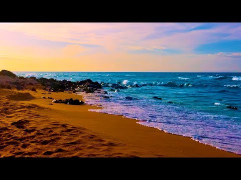 Ocean Sounds for Sleep  White Noise of Waves Crashing on Beach 10 Hours