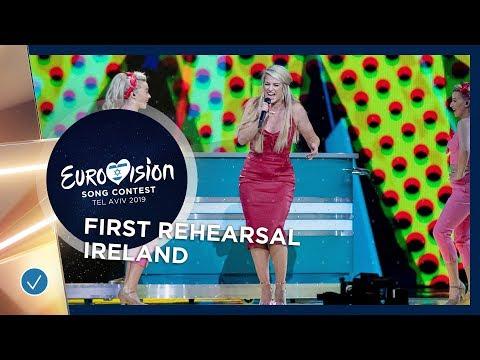Ireland 🇮🇪 - Sarah McTernan - 22 - First Rehearsal - Eurovision 2019