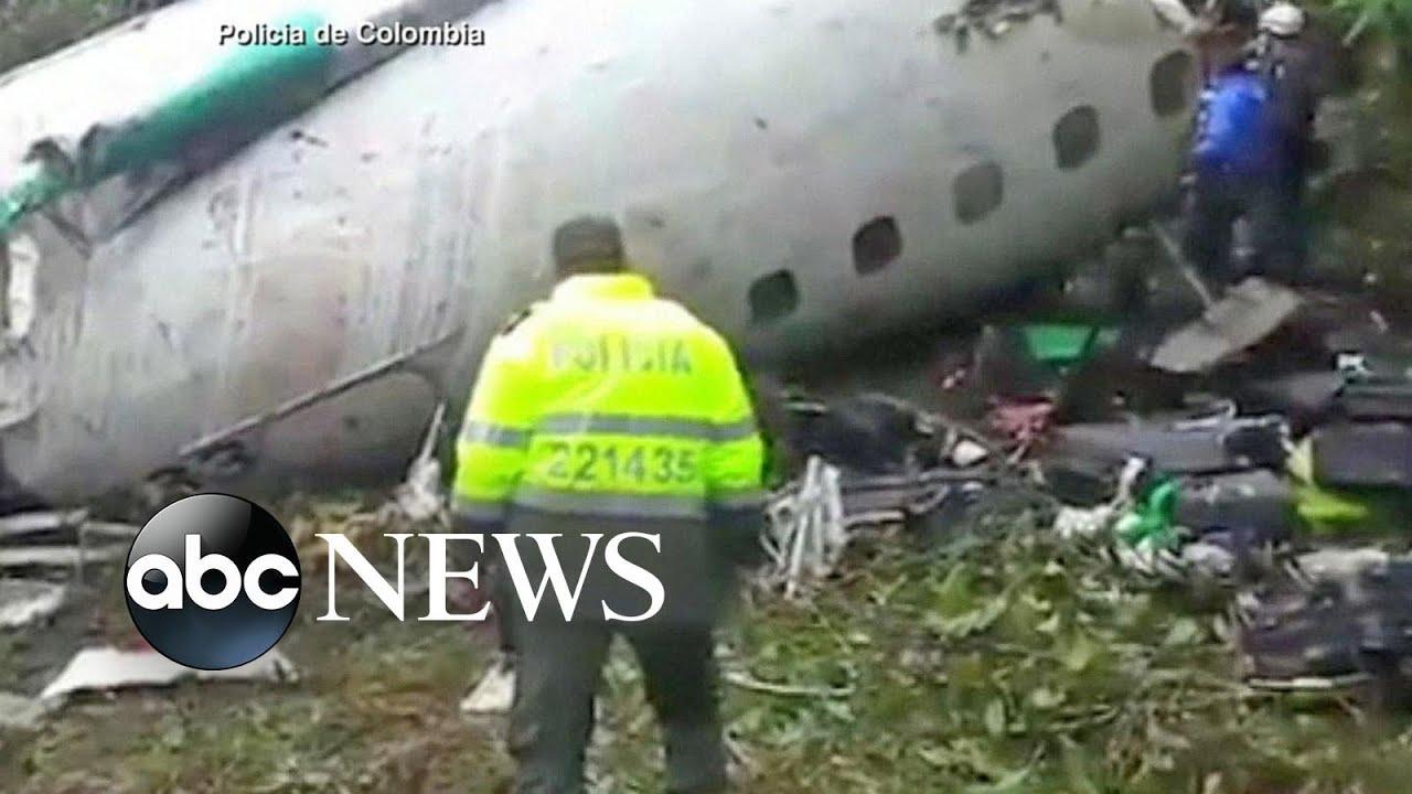 Brazilian Team Plane Crash How Six Survived Youtube