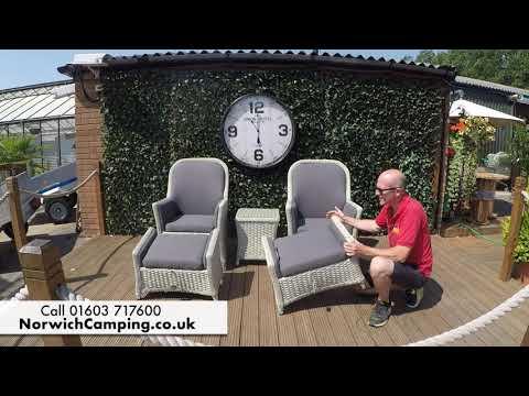 Bramblecrest All Weather Cushion Panama Garden Furniture