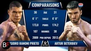 Artur Beterbiev vs Isidro Prieto Knockout (Round 1)