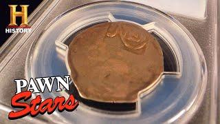 Pawn Stars: Seller Makes a KILLING on RARE SHILLING (Season 17) | History