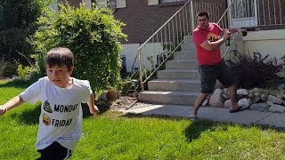 Kid Temper Tantrum Causes Wasps To Attack Daddy [ Original ] 90,000 Subscribers Special