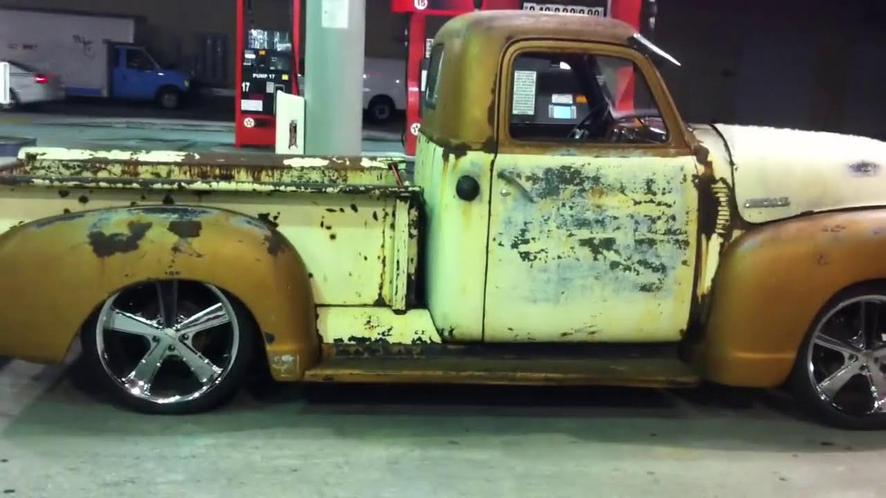 1950 Chevy 3100 Baggedrat Rod Bad Ass Part 1 1949 Rat