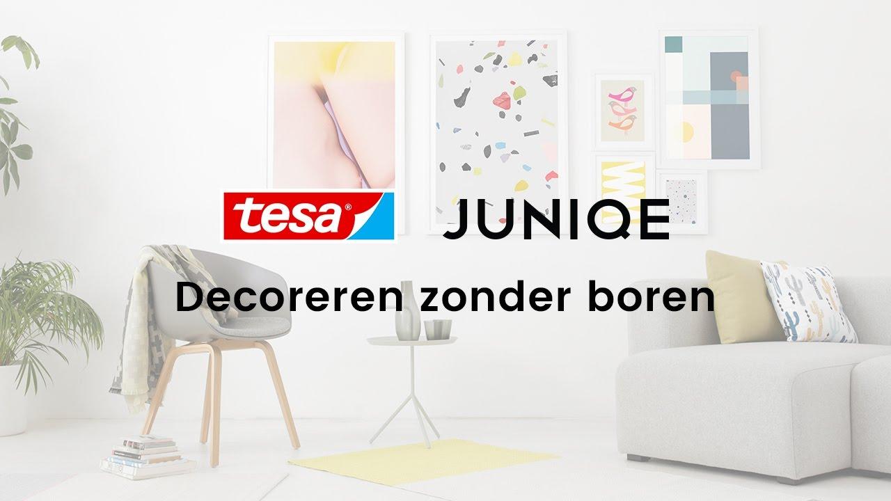 Wanddecoratie ophangen zonder boren: 5 ideeën | JUNIQE x tesa ...