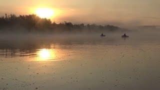 Утренняя рыбалка на Дону .Последний летний день 2019.