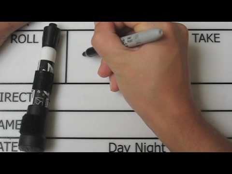 erasing-sharpie-from-a-dry-erase-slate/clapperboard