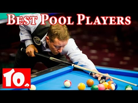 Top 10 Pool Players of All Time  -  2