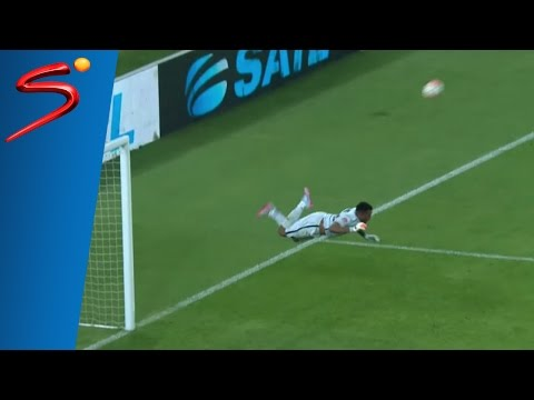 Itumeleng Khune's 'Higuita Scorpion Kick' save vs Mpumalanga Black Aces