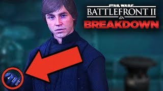 Star Wars Battlefront 2 Easter Eggs - Last Jedi CONNECTIONS (Campaign & Cutscenes Breakdown)