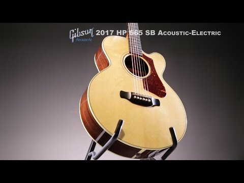 Gibson� High Performance HP 665 SB Acoustic-Electric Guitar