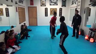 Kung Fu Kids Wrestling Self Defense Training