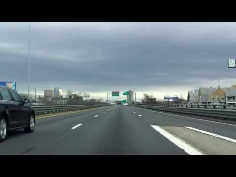 Interstate 91 - Massachusetts (Exits 1 to 8) northbound