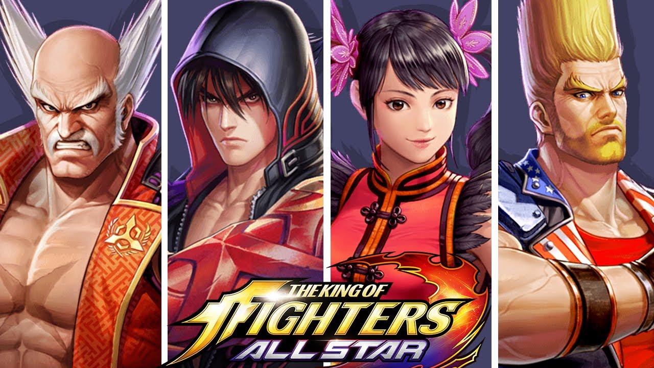 Kof Allstar X Tekken All Character Reveals Youtube