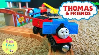 Thomas and Friends James Sorts It Out Unboxing and Review | Playing with Thomas Wooden Railway