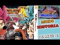 Dragon Ball Heroes Ultimate Mission X Gameplay en Castellano Historia Parte 1 Saga de Raditz