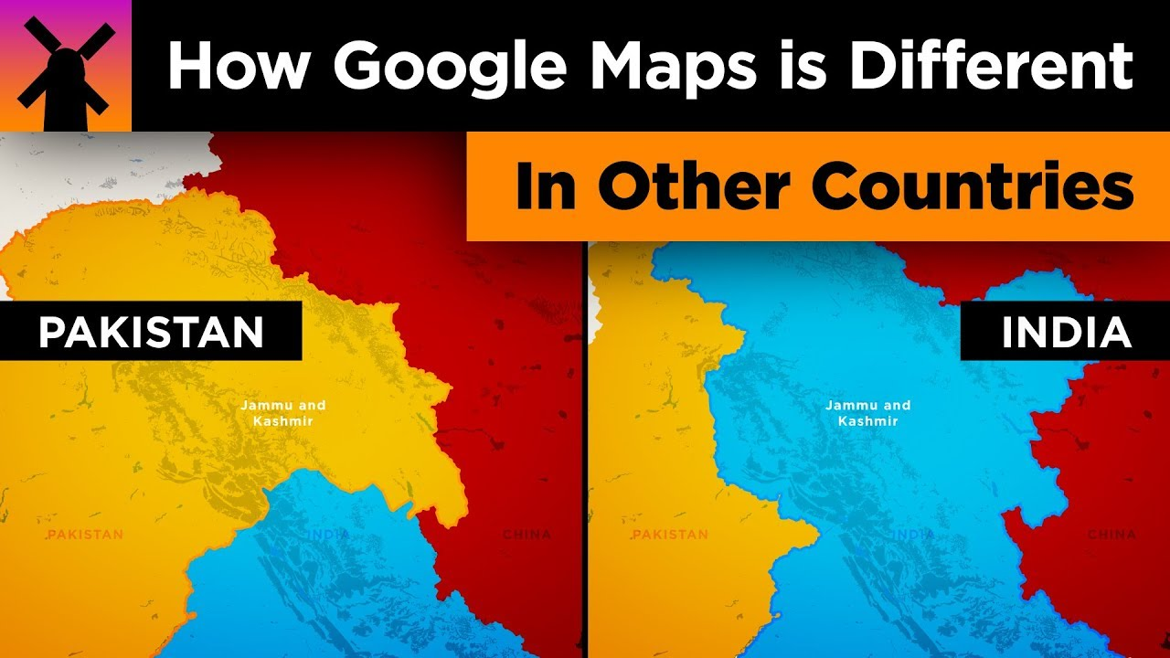 Here S How Google Maps Is Different In Other Countries Youtube