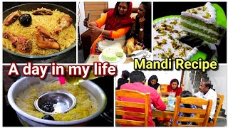 A Busy day in my life||Mandi recipe included||Dinner preperation||Mayyonise recipe||Guest in home